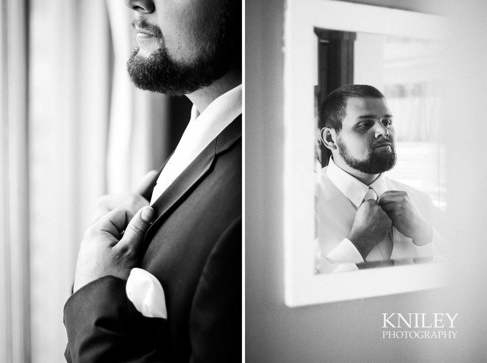 015 - Canandiagua NY wedding pictures - Groom getting ready.jpg