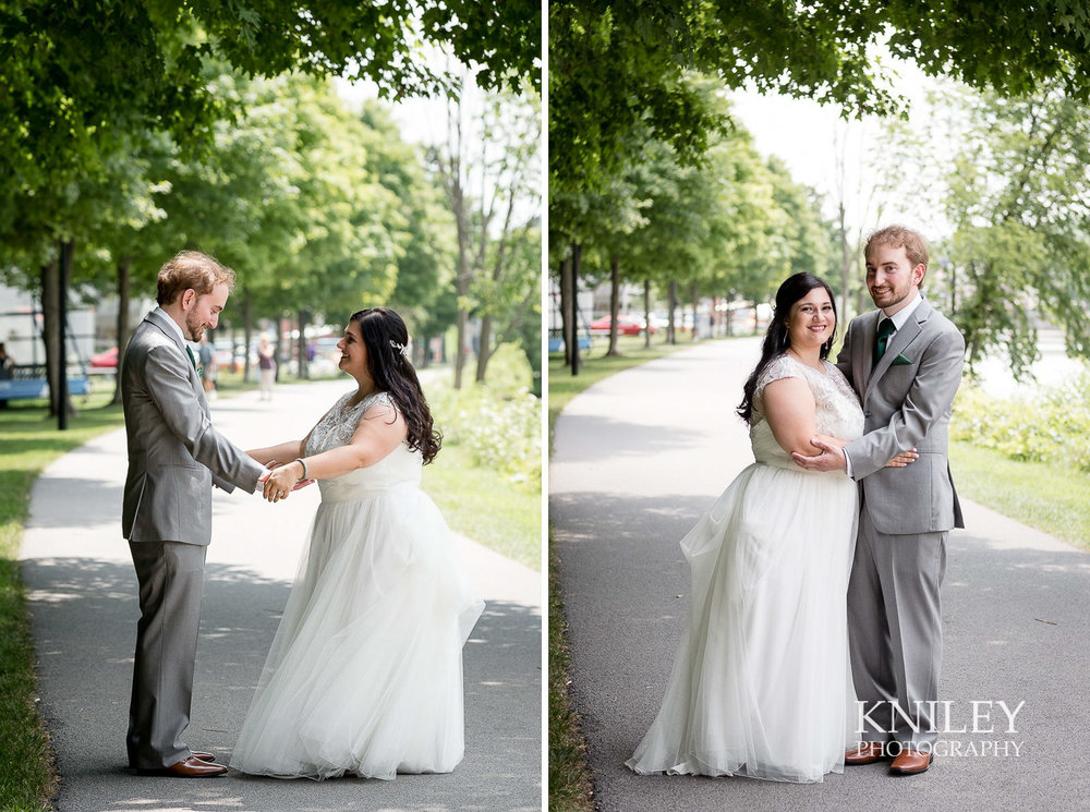 025 - Rochester NY wedding pictures - Erie Canal first look.jpg