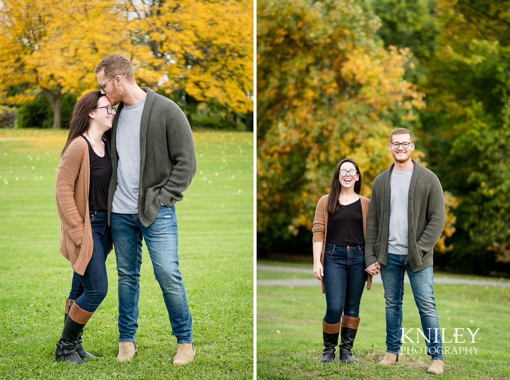 Highland Park Fall Engagement Session - Rochester NY - collage 3.jpg