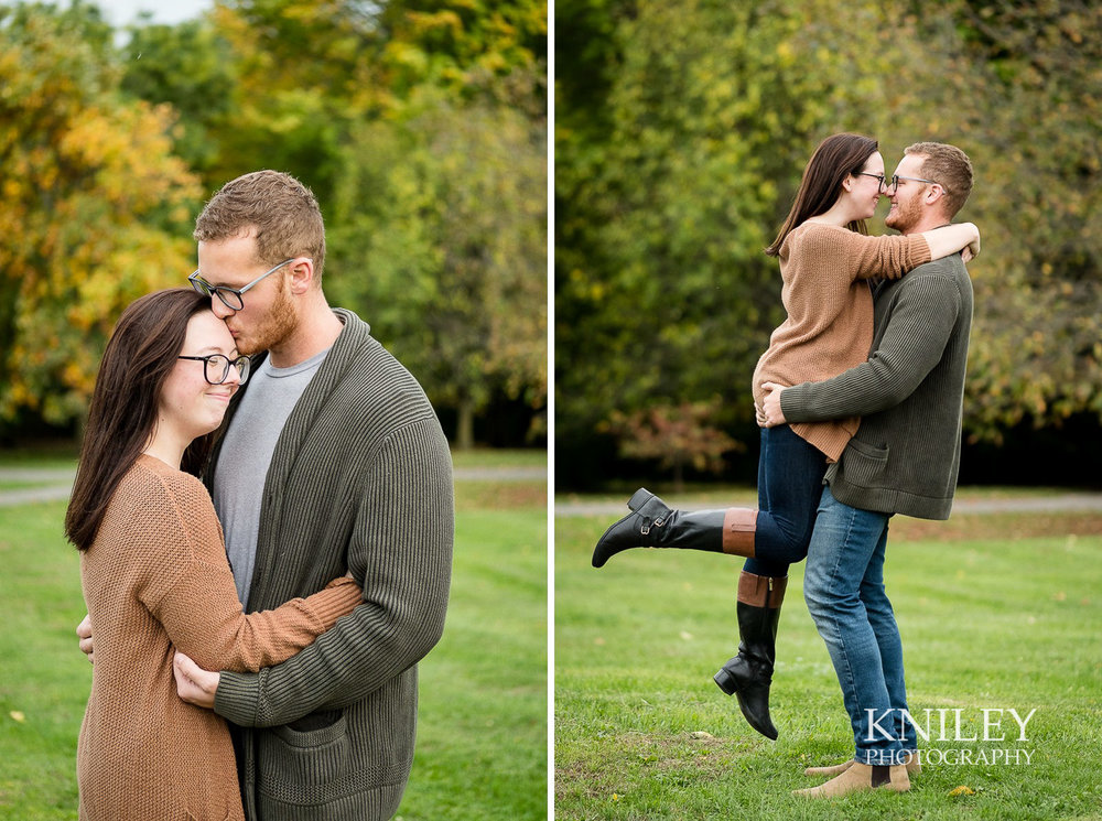 Highland Park Fall Engagement Session - Rochester NY - collage 5.jpg