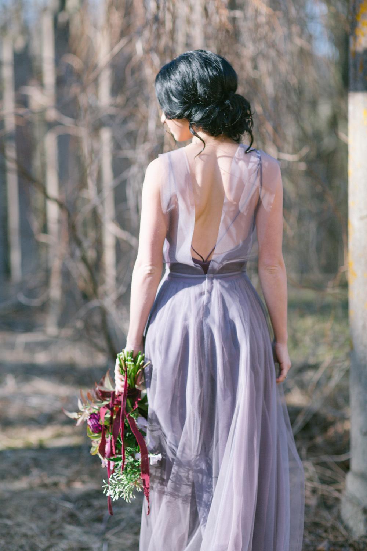 Aubergine + Lilac Wedding Inspiration | Deborde Inspired