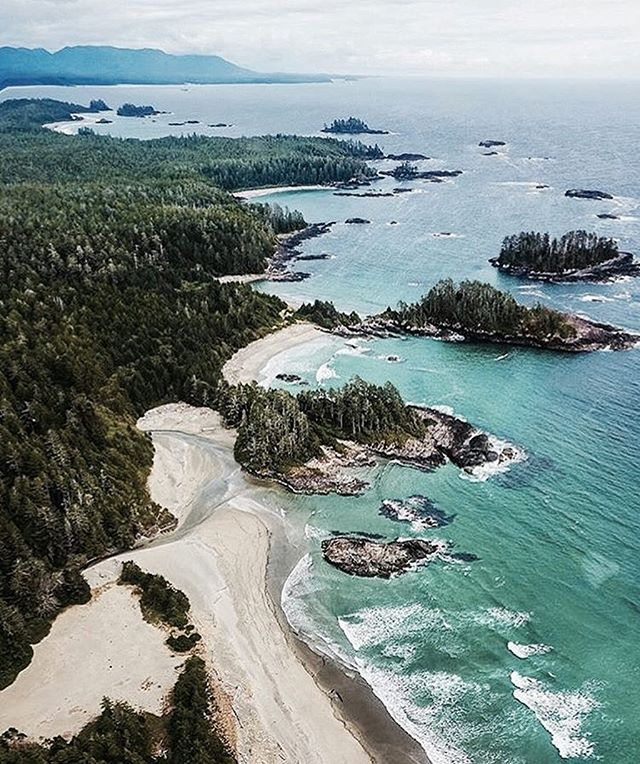 So sad to be missing the @picotcollective night market this week, but excited to head to this beautiful place for a few days! See you soon Tofino! And see you next week, Fernwood 🙂🌎🌊