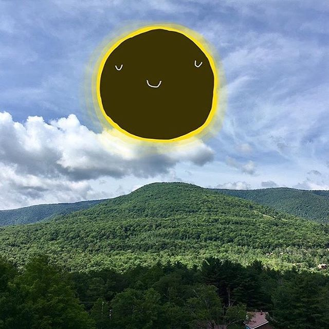happy eclipse! 🌞🌝