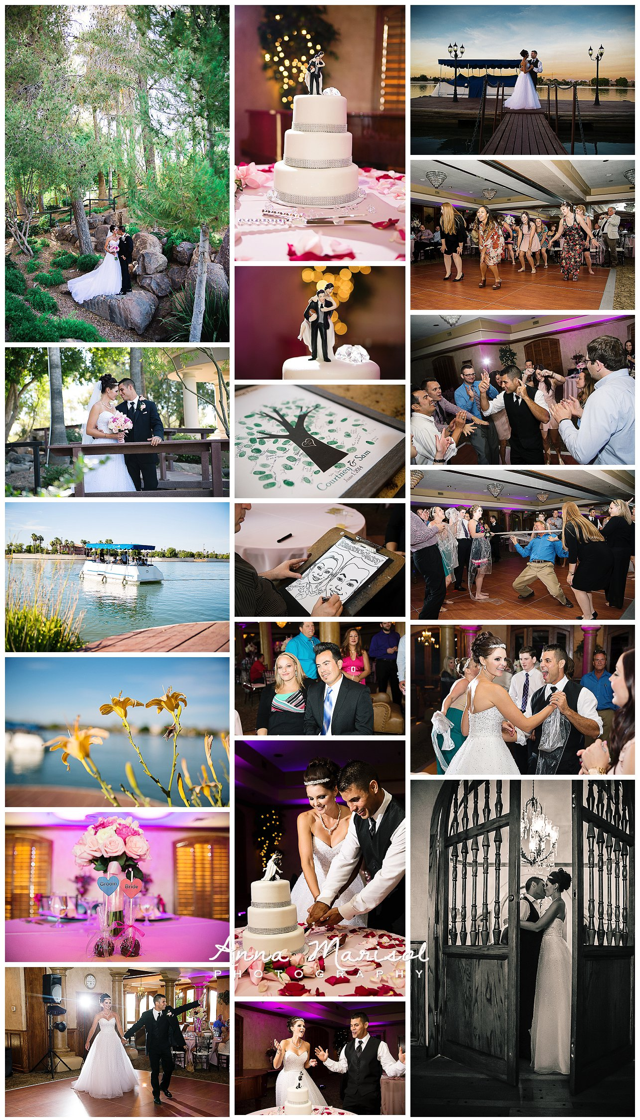 Val Vista Lake Wedding