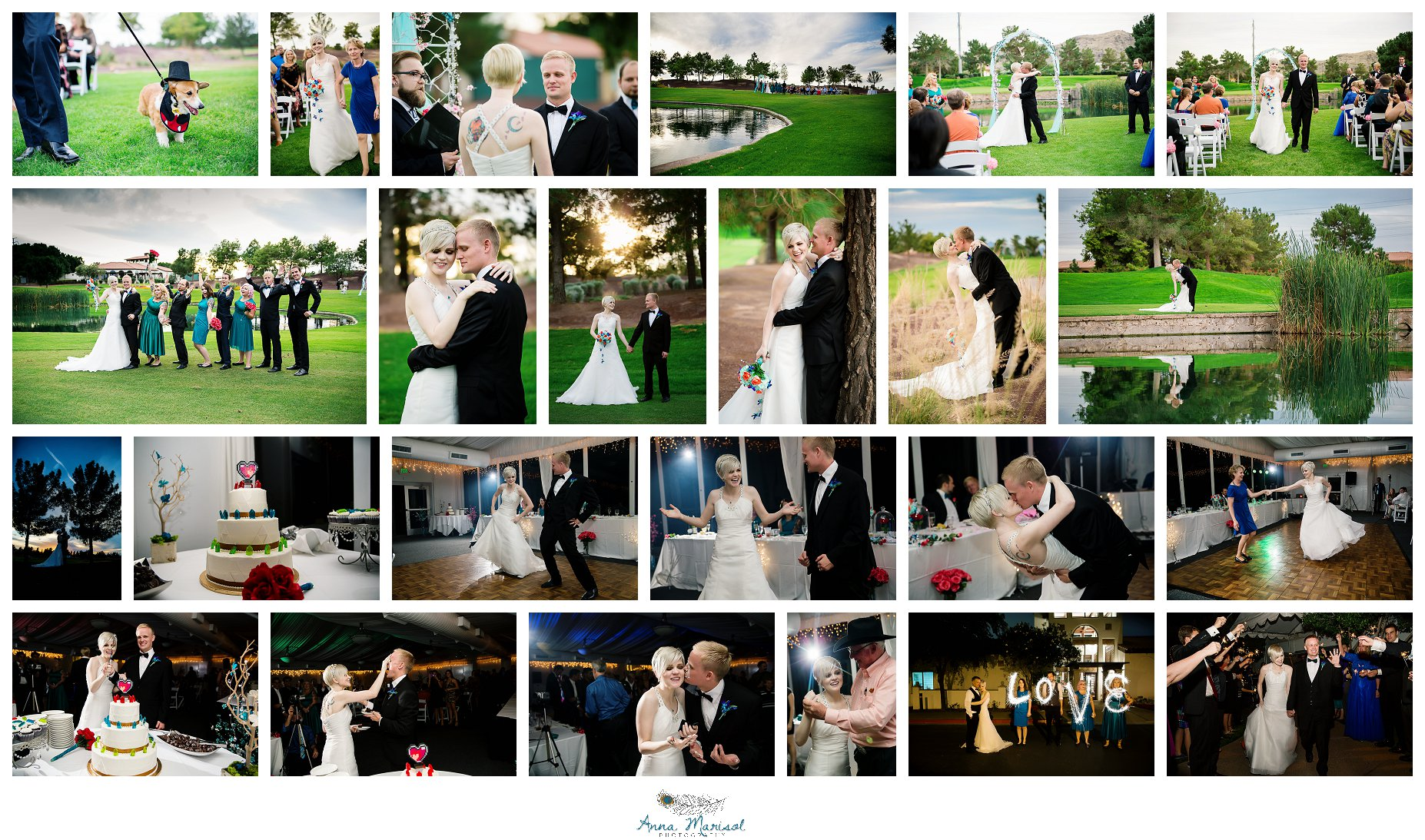 The Raven Golf Club Wedding, Phoenix
