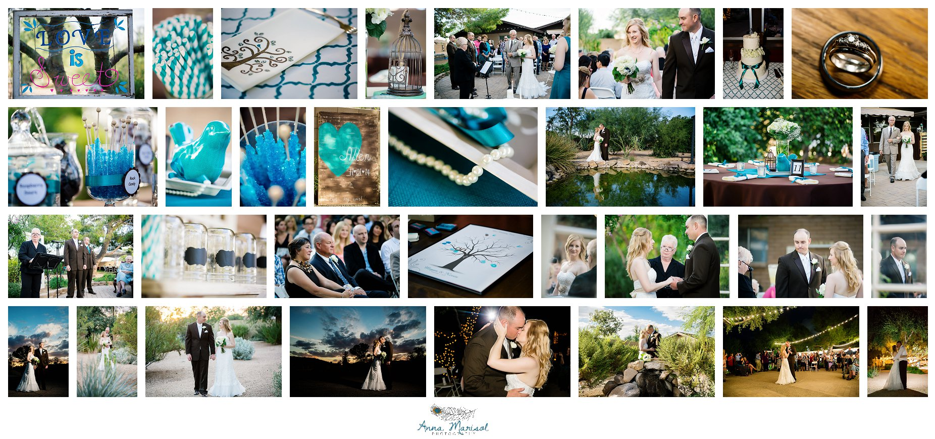 Glendale Backyard Wedding