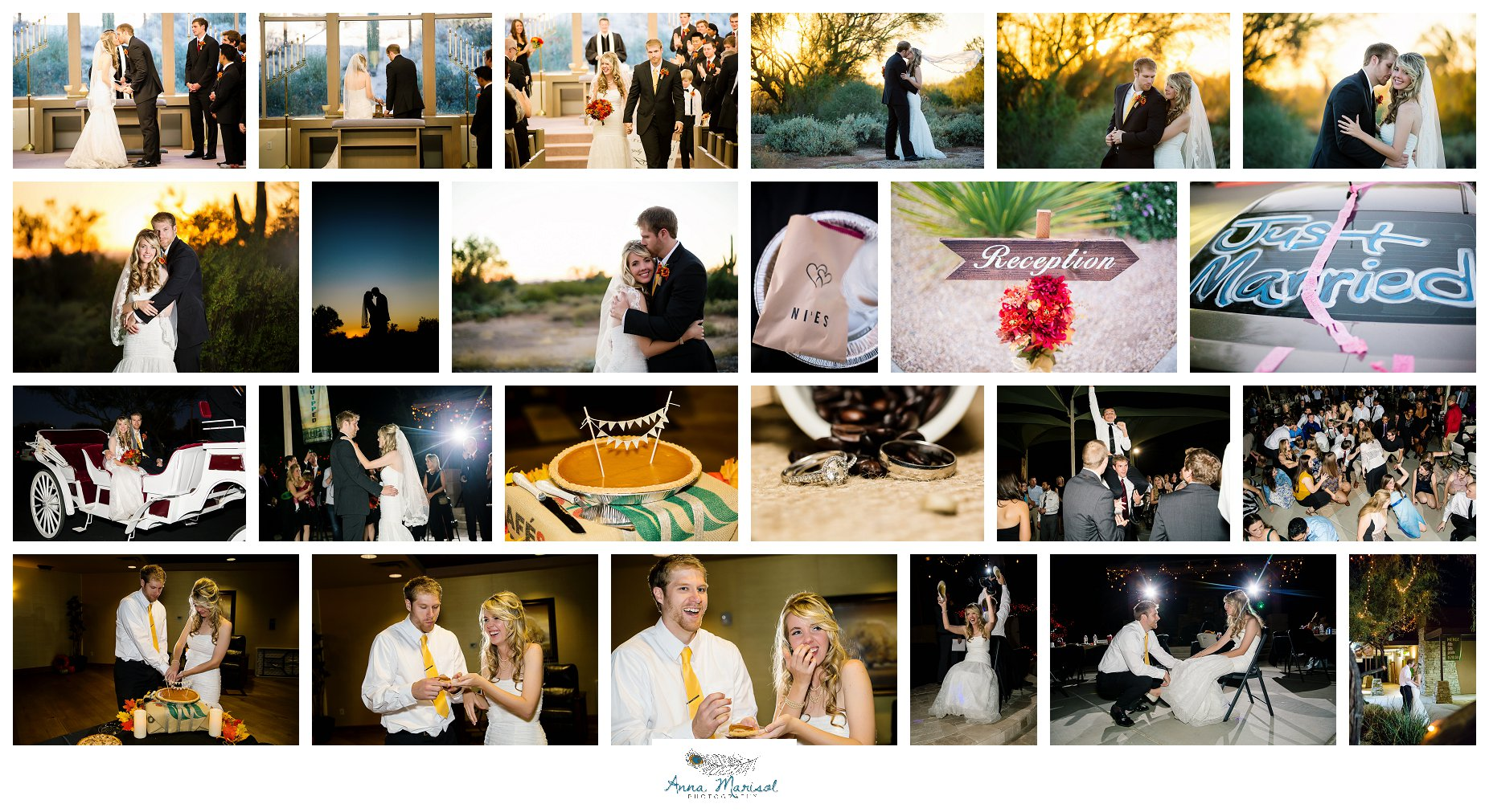Desert Hills Presbyterian Church Wedding