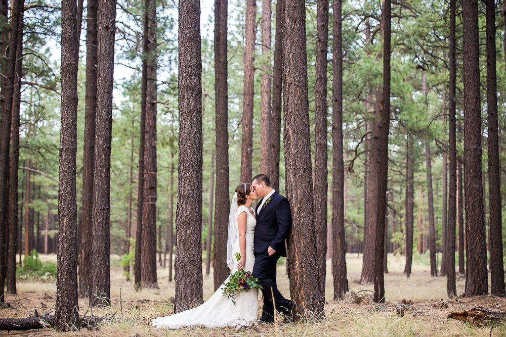 Pine top Wedding photographer