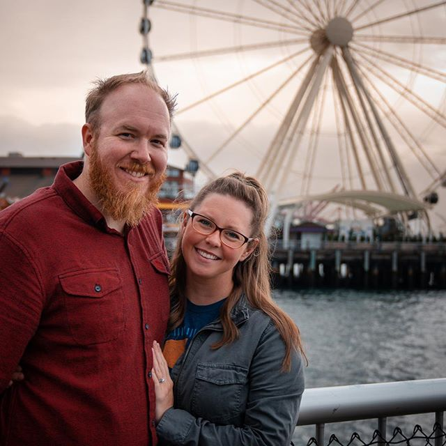 Quick little shout out to my bae, my ride or die chick, my main squeeze, my better half, my always and forever #wcw . . I did some fresh edits to this photo from our #Seattle trip last year. Swipe to see the raw photo. Also I miss Seattle, it was such an awesome trip!