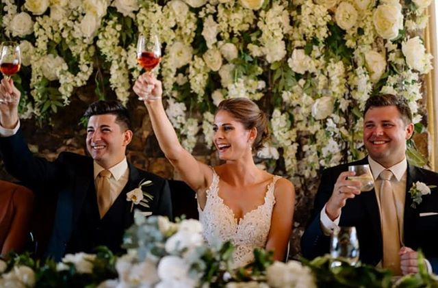 #winebackwednesday to this wonderful Waiheke wedding of @wilshrimpton & @mikesandstorm feat. our #wisteriaarch 💐 we adore client pics - helping us get through humpday 😉 #wouldntmindawine - 📸: @official_photographers #weddingwednesday #winenot  #wouldntmindawine #waihekeweddings #waiheke #tantalusestate #flowerwall #flowerarch #flowerbackdrop #receptionideas  #boutiquebackdrops #flowerwallnz #flowerwallauckland #flowerwall #aucklandweddings #humpday #humpdaytreat