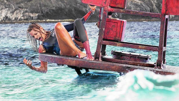 "Blake Lively in ""The Shallows."" Photo courtesy of Columbia Pictures/Sony."
