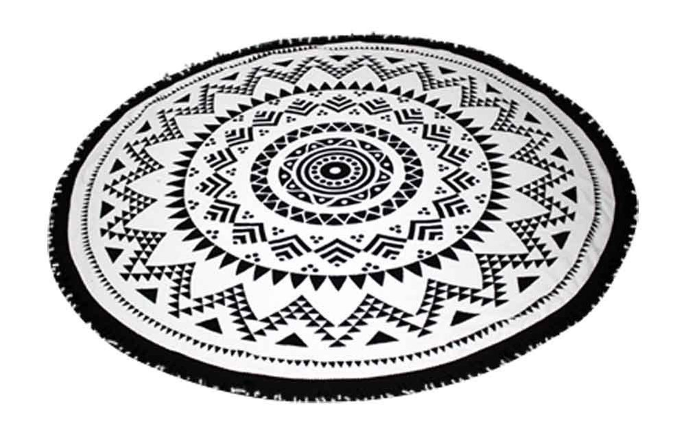 SwimZip® Round Beach Towel