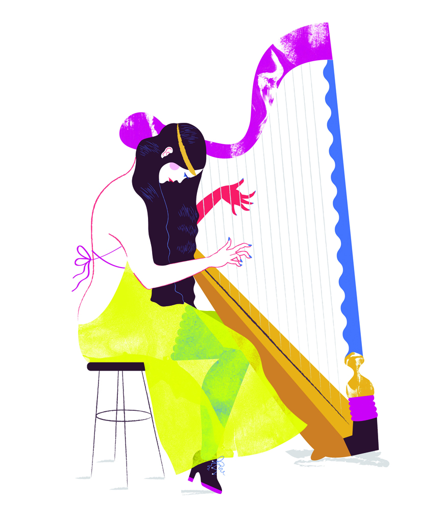 Harp_player_Kelly_Thompson_Illustration_Art_Blog_eirian_Chapman_Curvy.jpg
