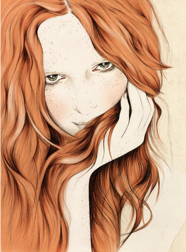 Kelly Thompson beauty Illustration blog