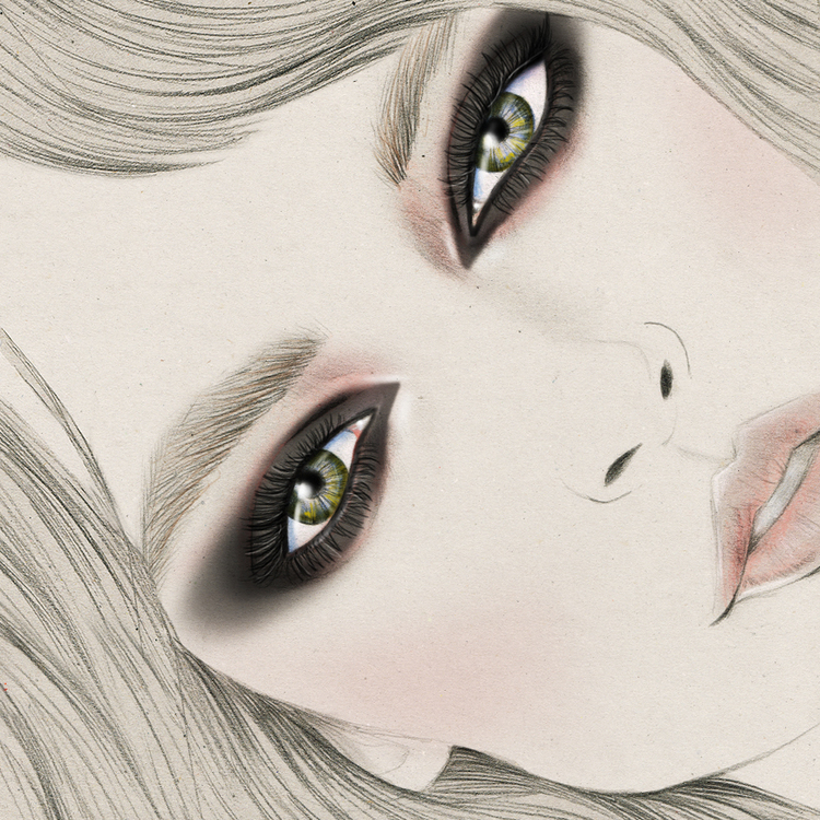 Kelly Thompson beauty illustration MAC Cosmetics blog