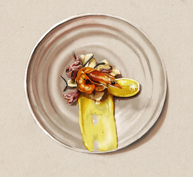 Kelly Thompson food illustration blog