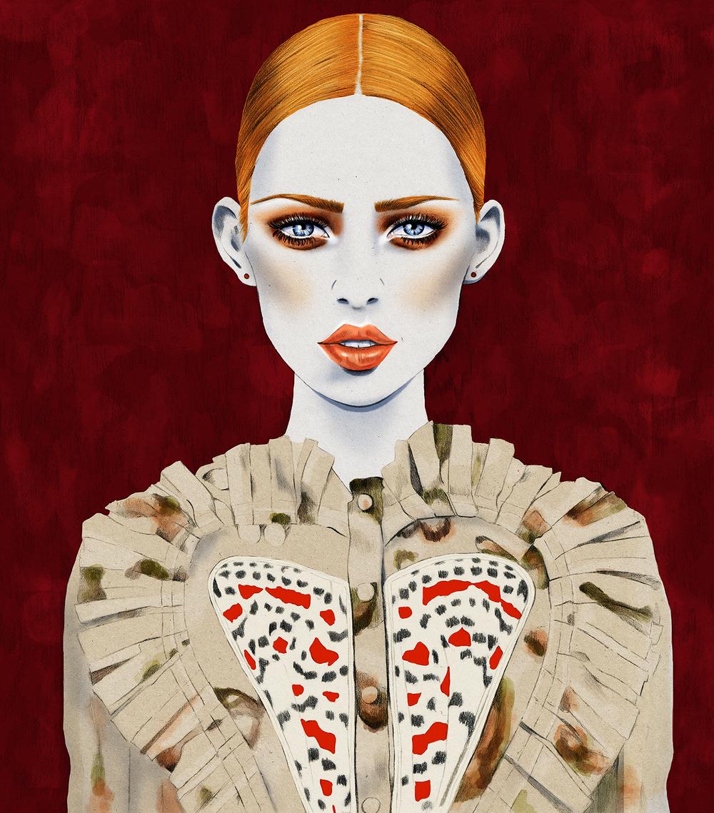 Kelly Thompson fashion illustration blog Givenchy
