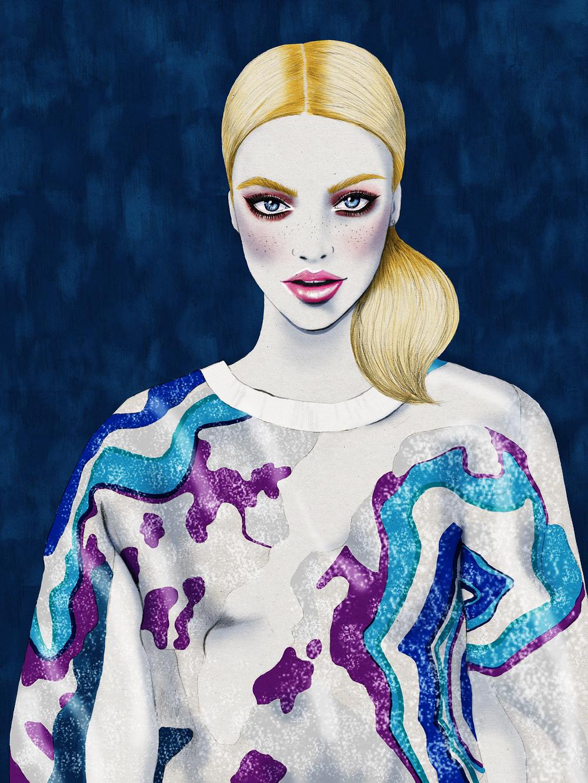 Kelly Thompson fashion illustration blog Phillip Lim