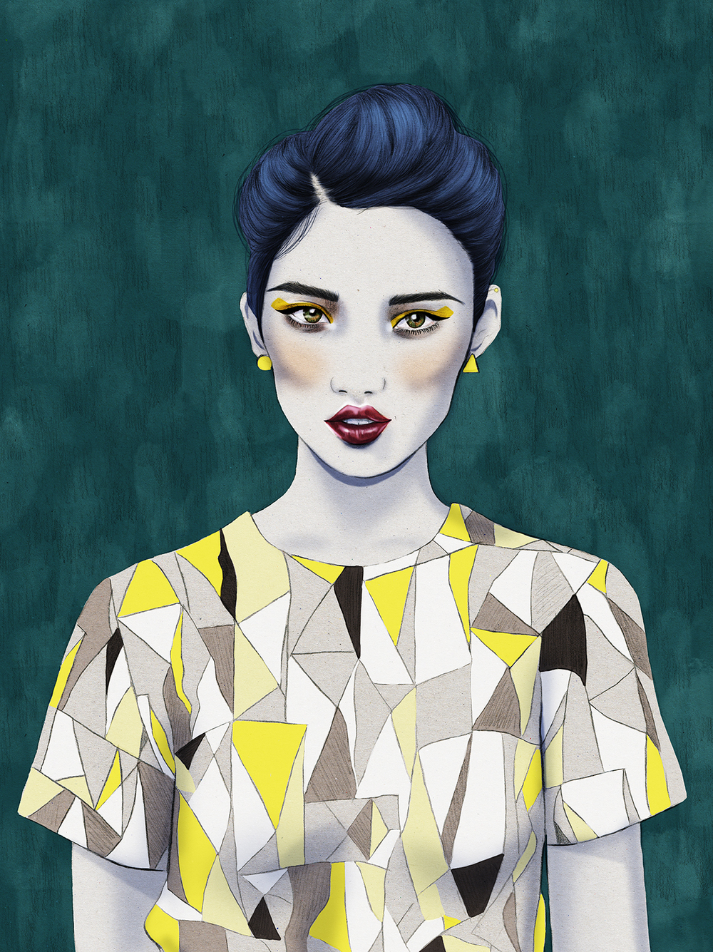 Kelly Thompson fashion illustration blog Roksanda