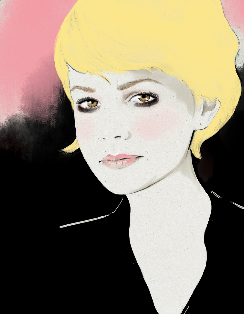 Kelly Thompson illustration blog Carey Mulligan
