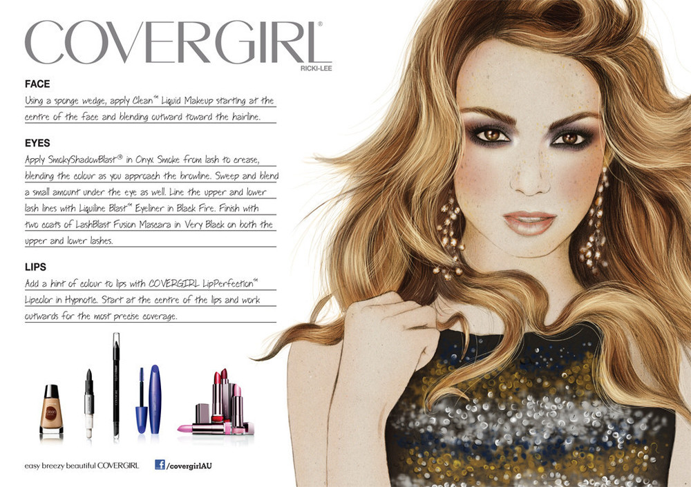 Kelly Thompson Illustration blog Covergirl