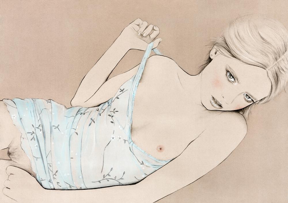 Kelly Thompson Illustration blog erotica