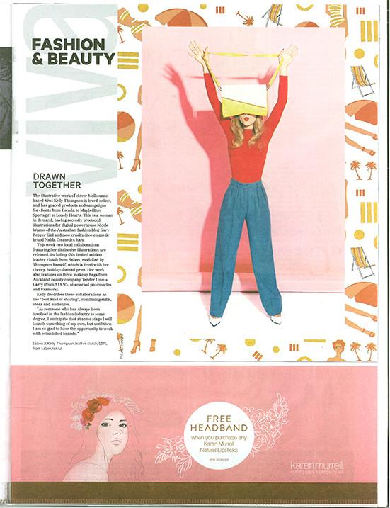 Kelly Thompson Viva Magazine
