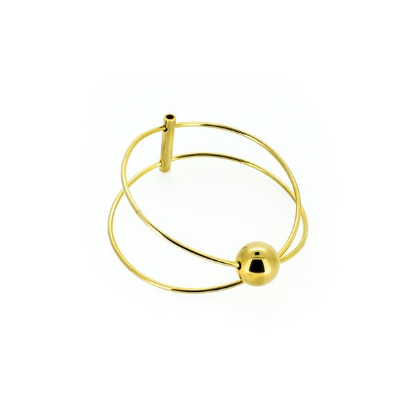 Gold Active Galaxy Bangle by  Holly Ryan