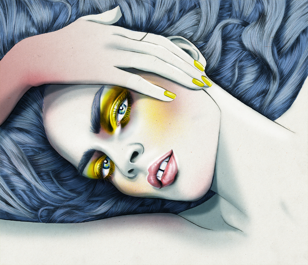 Kelly Thompson beauty Illustration artist