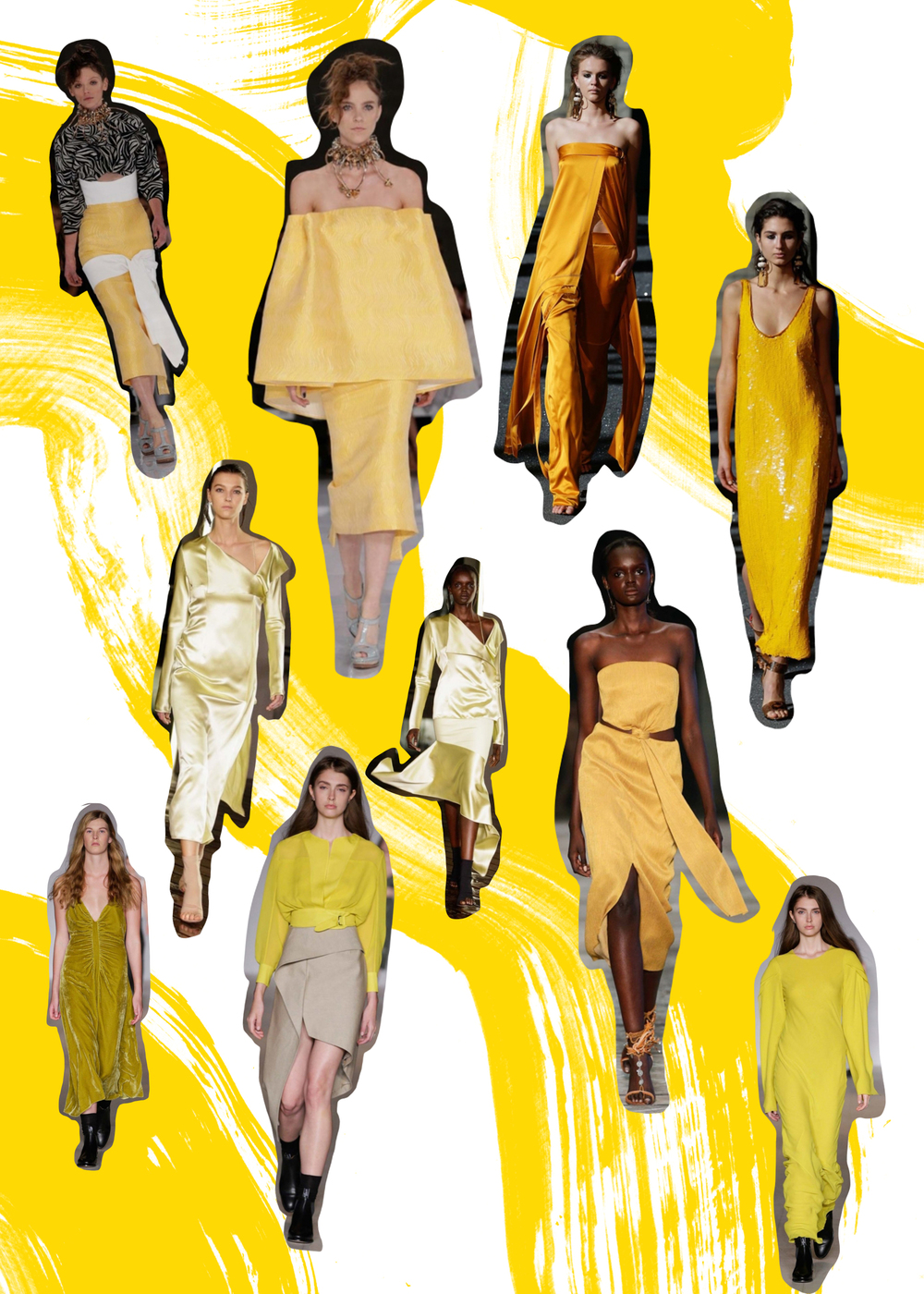 MBFWA Resort 16/17 trends yellow - www.kellythompsoncreative.com