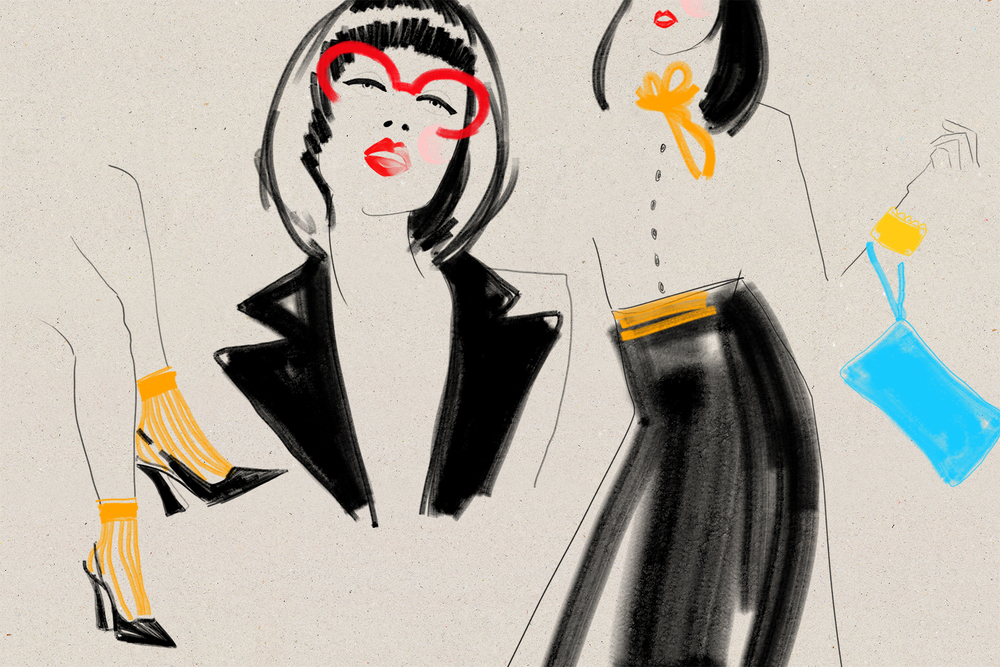 Kelly thompson fashion illustrator blog Melbourne