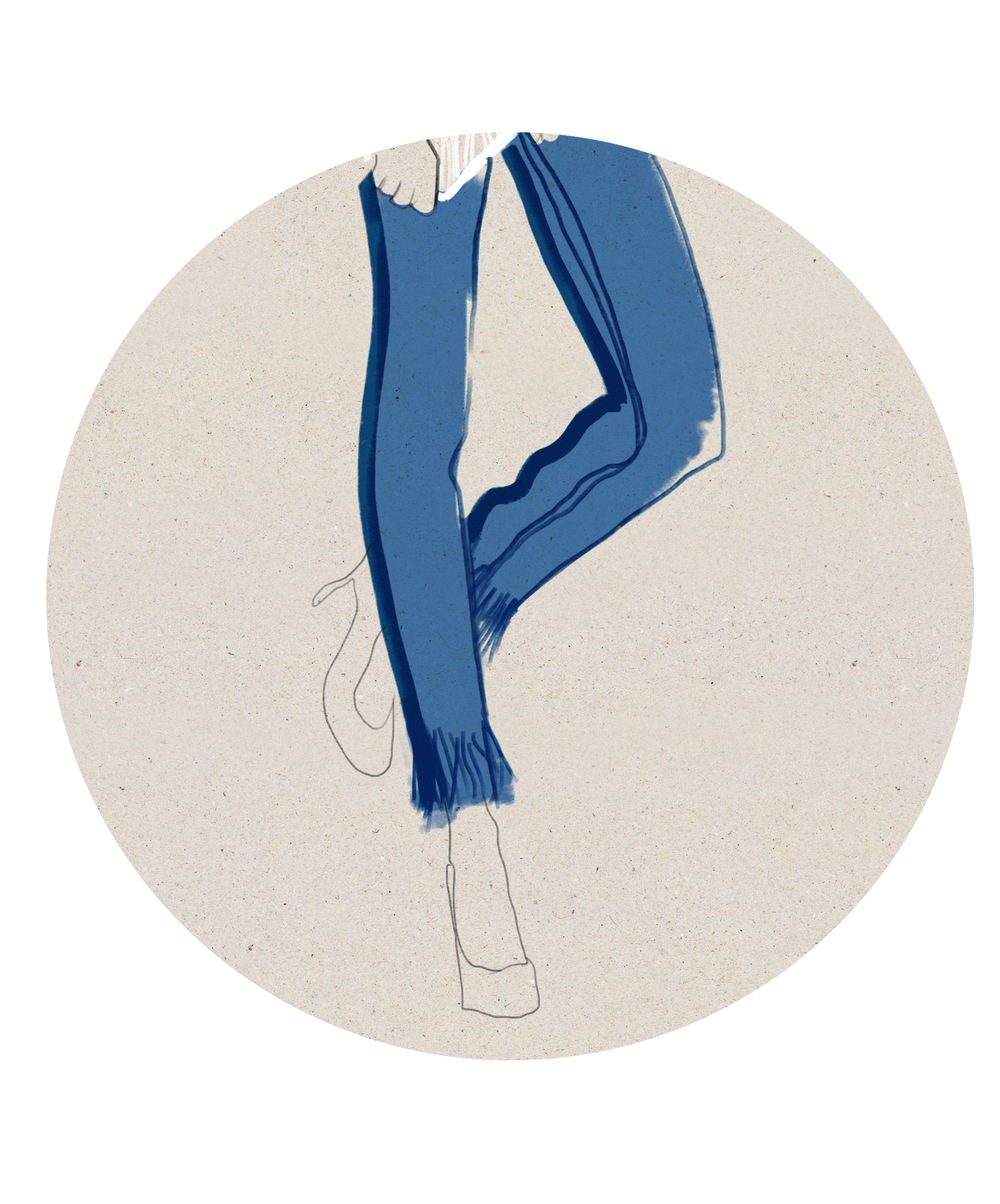 Kelly Thompson fashion illustration blog melbourne denim