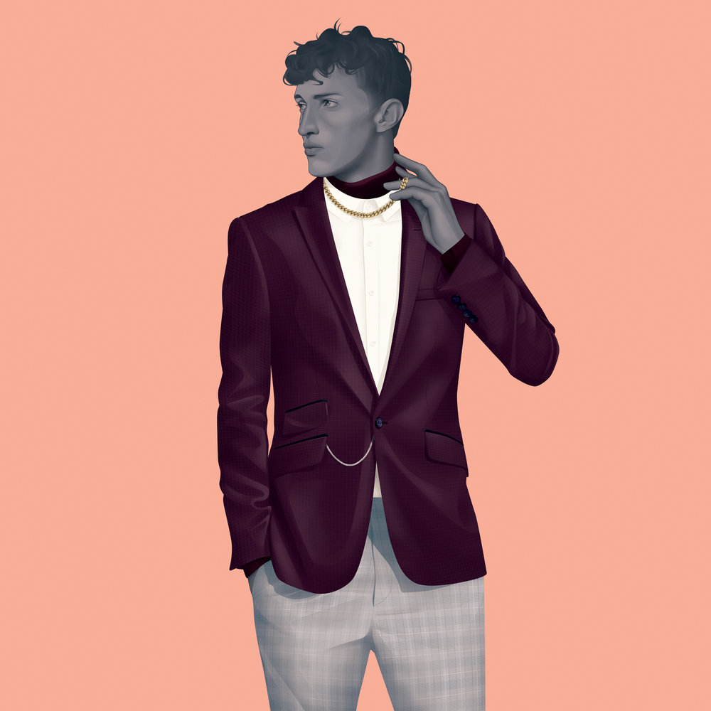 Illustration - Jack Hughes