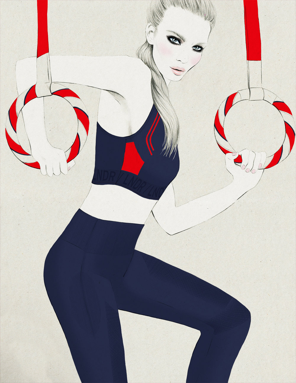 Kelly Thompson blog Melbourne fitness illustration www.kellythompsoncreative.com