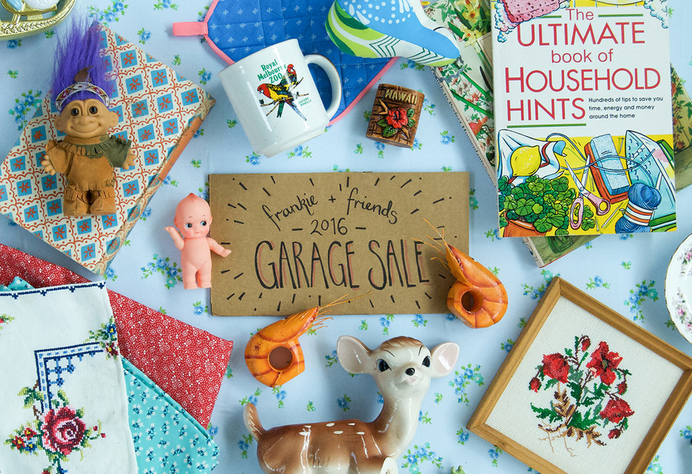 Kelly Thompson blog Melbourne Frankie Garage Sale