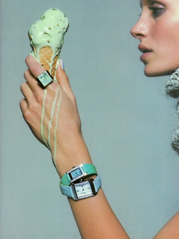 This will cool her - Image Vogue 1999