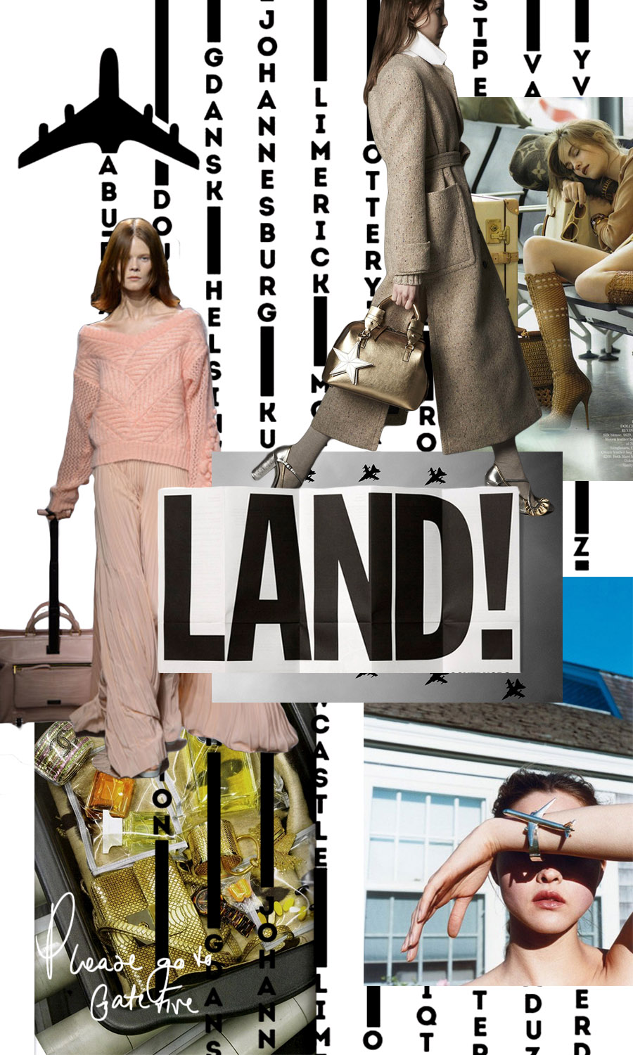 Credits:  Cover square - Helmut Newton  /  Photography - Raymond Meier  /  Land! - Droog  /  Fashion - No. 21