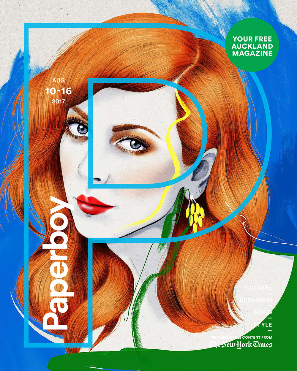 Kelly Thompson Illustration Paperboy cover