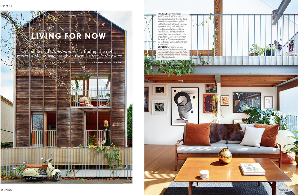 My Home in the latest NZ House and Garden Magazine Kelly Thompson