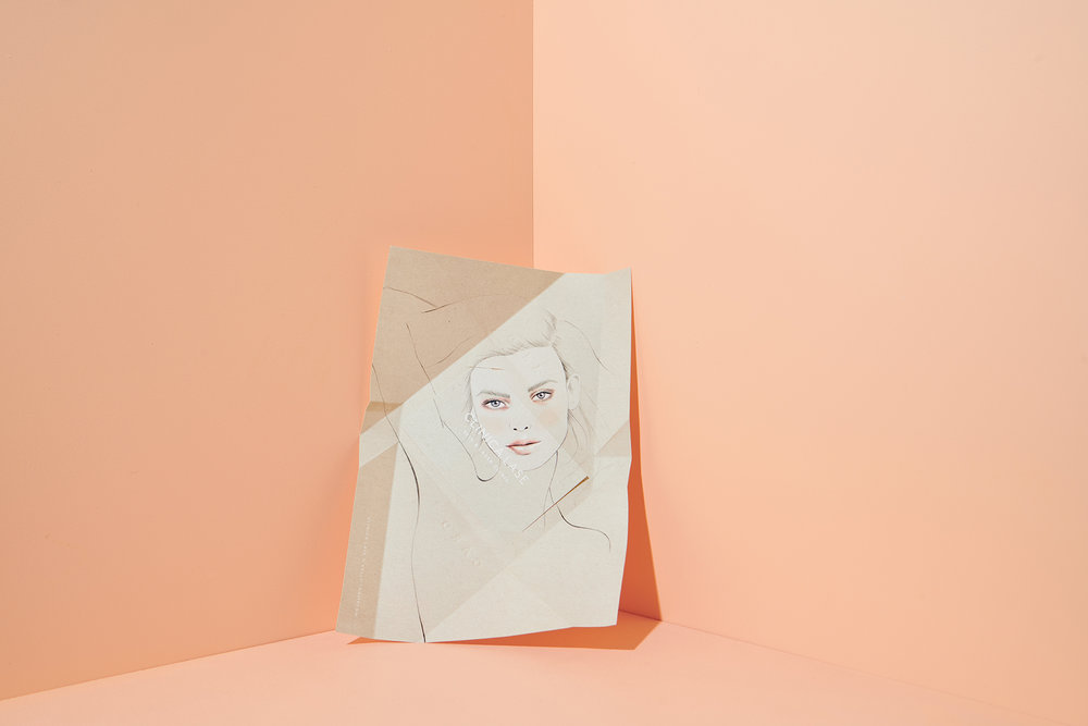 Kelly Thompson beauty illustration Clinicalase Melbourne