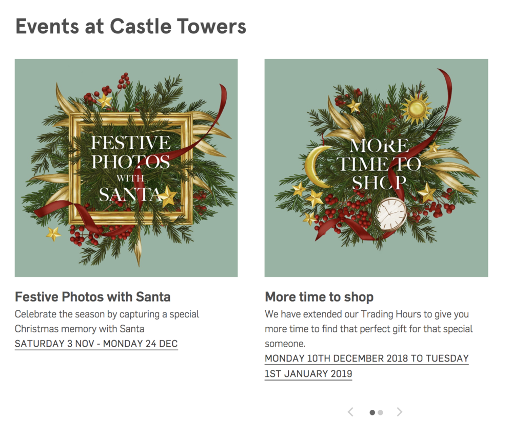 Kelly Thompson botanical Illustration Christmas wreaths Eastland and Castle Towers