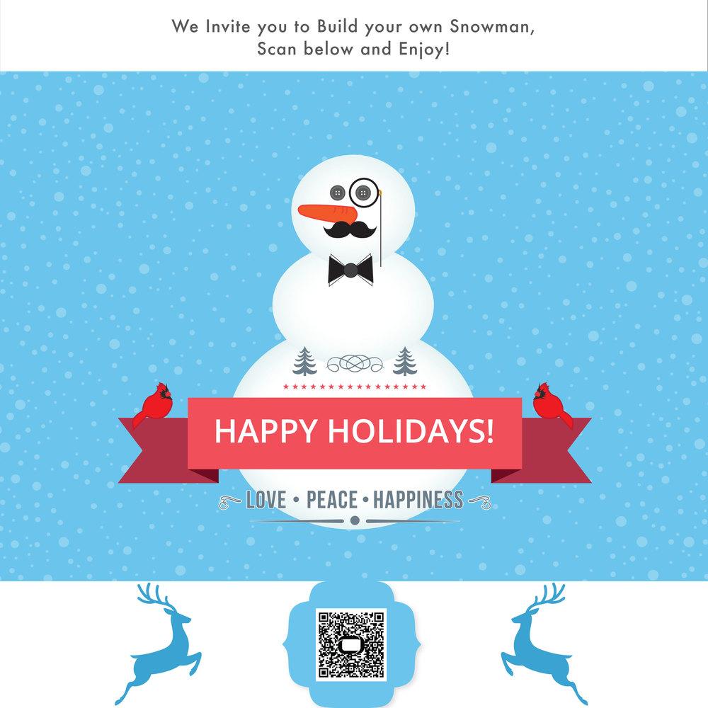 InMobi Christmas Interactive Card