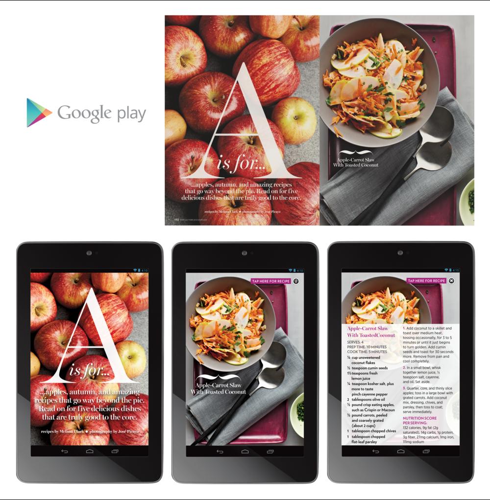 "Shape Magazine 7"" Tablet"
