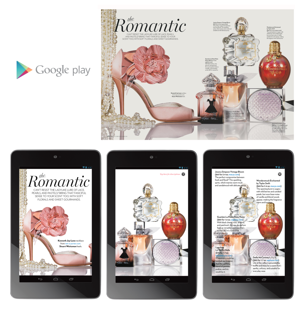 "Shape Magazine 7"" Tablet - The Romantic"