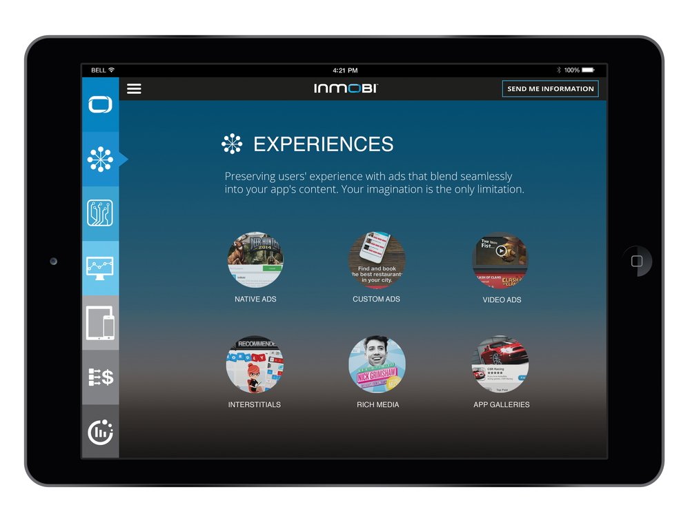iPad Sales Tool - Experiences