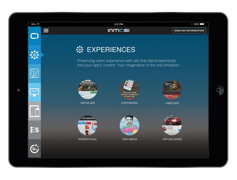 iPad Sales Tool - Experiences