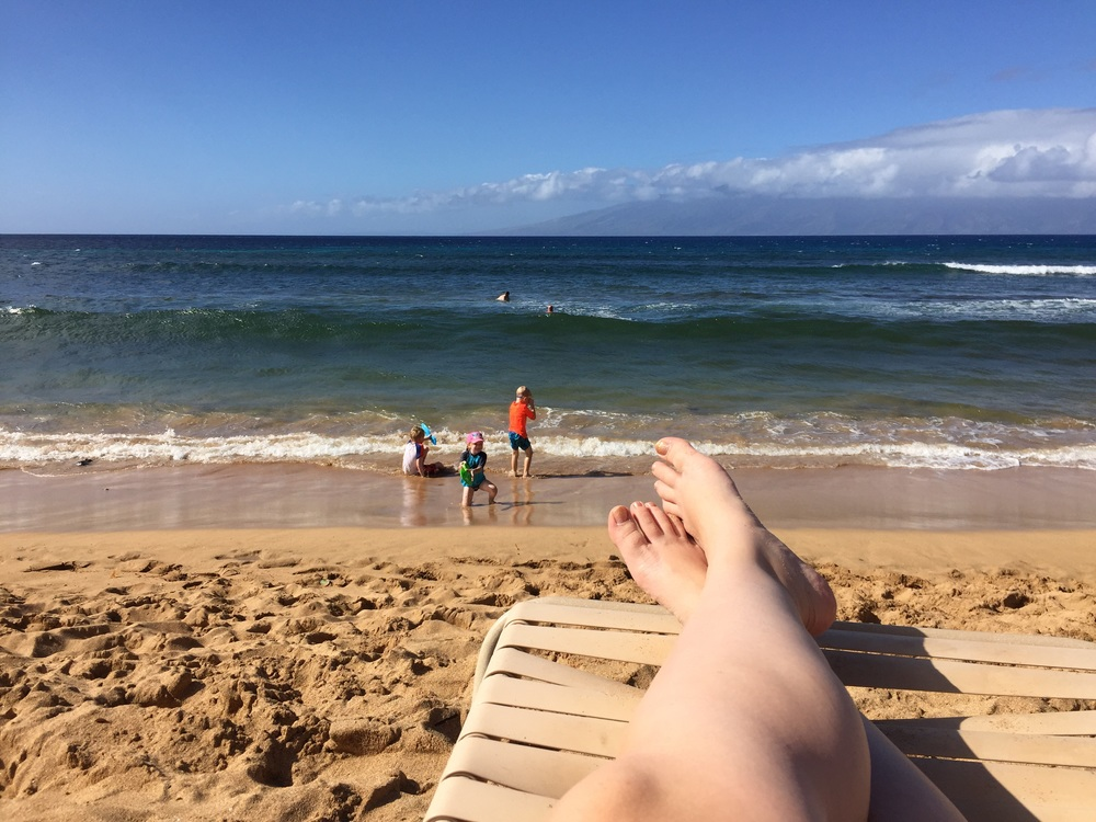Reminiscing of warmer days in Maui!