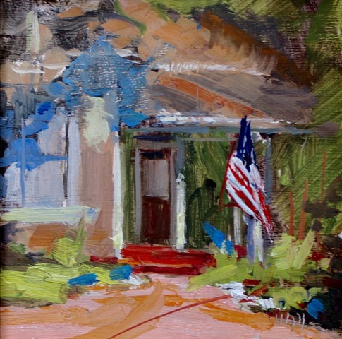 "the show on maple street 6""x6"""