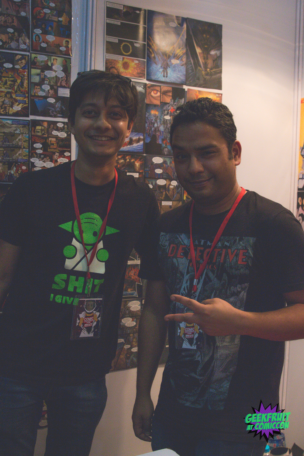 Keeping it Classy with Chariot Comics' Anirudhho Chakraborty. Always great to talk to.