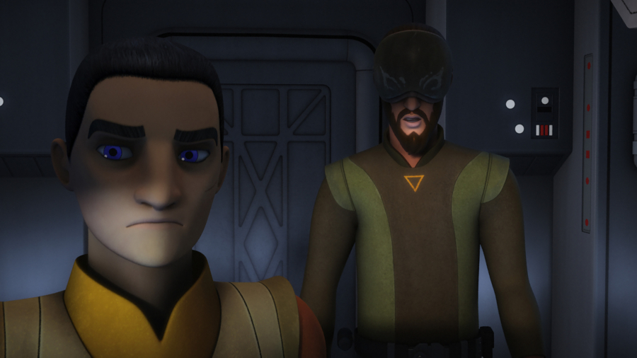 Ezra and Kanan, the confused Jedi.